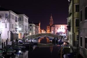 notte a Chioggia