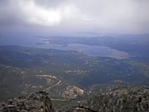 panorama da Punta Cugnana