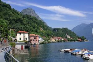 San Mamete e il lago Ceresio