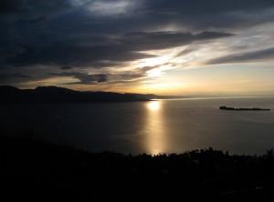 Il sole illumina Garda