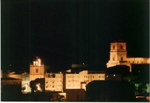 Enna notturno centro storico