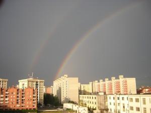 torino e l'arcobaleno