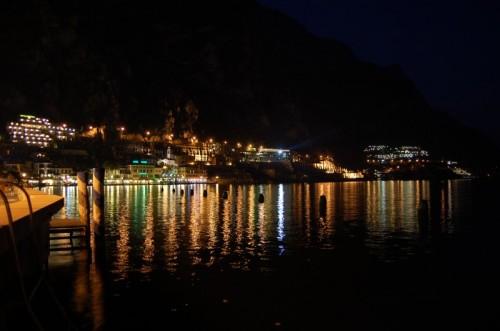 Limone Sul Garda Limone Di Notte Lago Di Garda