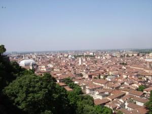 brescia vista dal castello