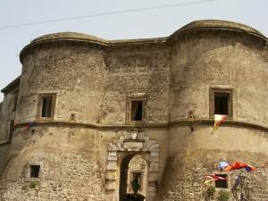 Facciata del castello Ducale
