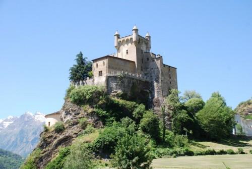 Saint-Pierre - il castello di Saint Pierre visto da una nuova angolazione