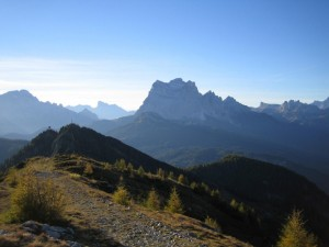 panorama dal monte rite 2