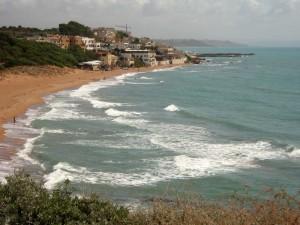 la spiaggia di Selinunte….