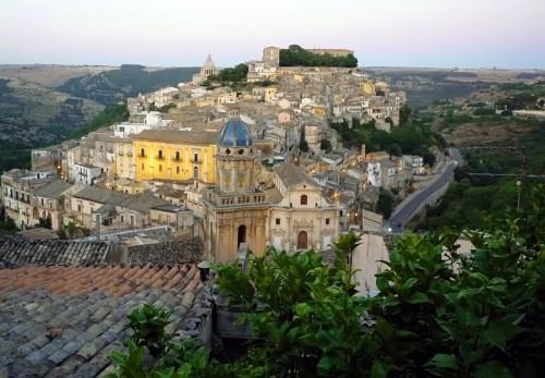 Ragusa - Panorama di Ragusa Ibla