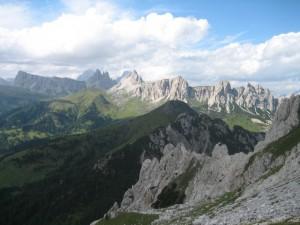 Panorama dal Pelmo