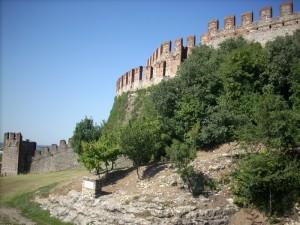 Fortificazione esterna Castello di Soave