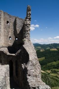 Castello di Canossa - particolare