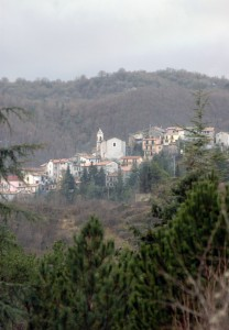 Panorama su Vallinfreda