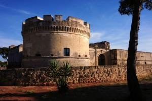 IL Castello di Acaja, ingresso e bastione