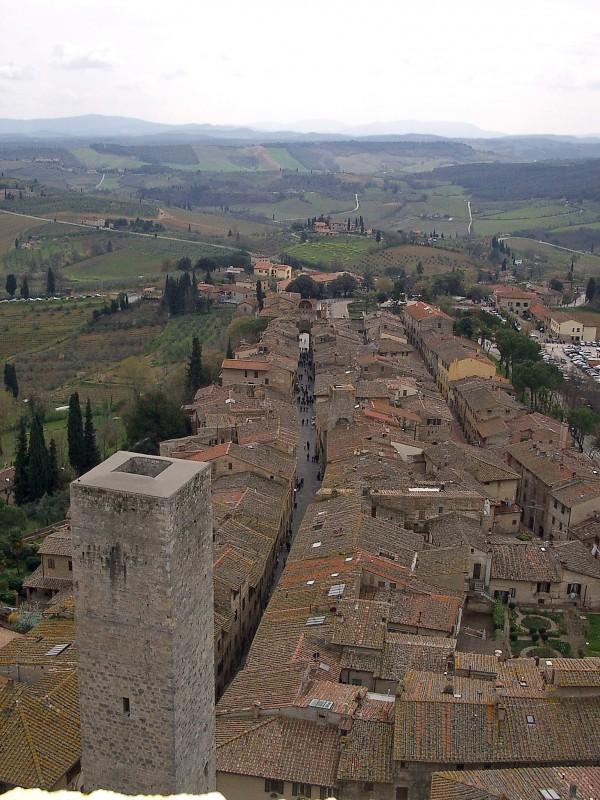 ''Veduta dall'alto di San Gimignano'' - San Gimignano