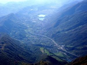 Panorama dal Monte Pizzoc