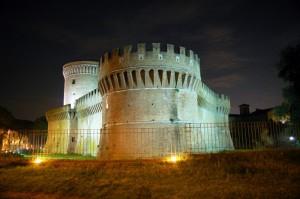 Roma - Ostia antica - Castello - Rocca di Giulio II