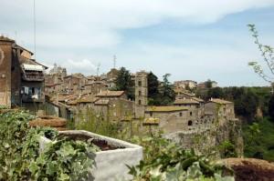 Ronciglione - Panorama della città vecchia