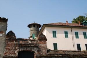 resti del castello e la sua torre