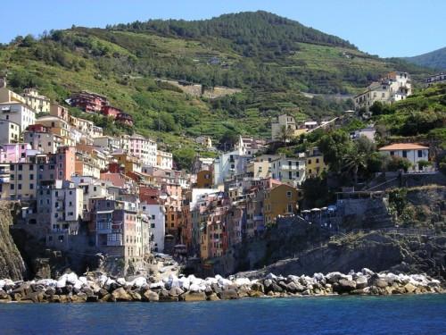 Riomaggiore - Riomaggiore dalla nave