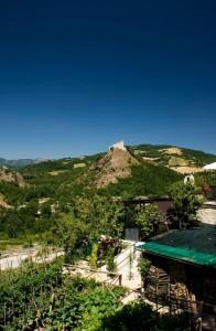 Panorama della Rocca di Varano
