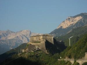 Il Forte di Exilles visto da Est
