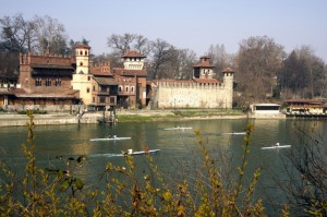 Torino -  Castello del Borgo Medioevale del Valentino