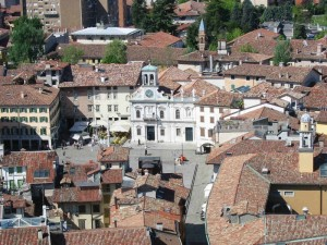 Udine - Panorama dal castello