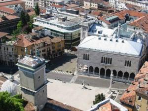 Udine - Panorama su Piazza Libertà