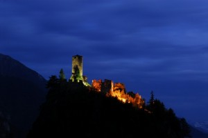Il Castello di Graines, luci impervie