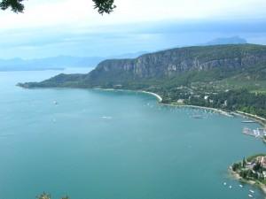 Vista dalla Rocca - Punta San Vigilio