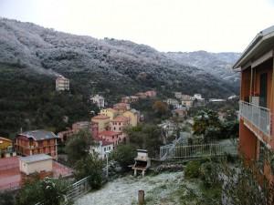 Natale a Moneglia con la neve