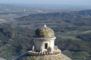dalla Cupola della Cattedrale la Valle del Neto
