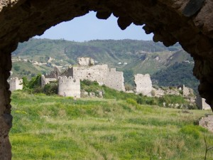 ruderi del castello di amantea