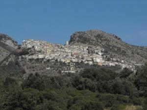 Panorama di Castelcivita