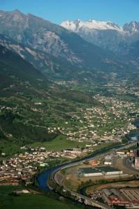 Aosta…in mongolfiera!