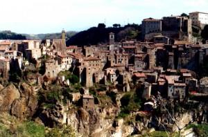 panorama Sorano