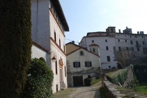 gli edifici del castello di Valdengo