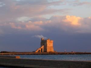Torre di S. Isidoro al tramonto