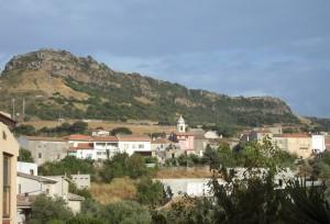 Siligo e il monte Sant'Antonio