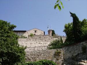 panorama di brescia dai bastioni del castello