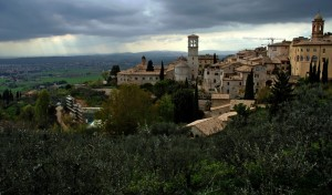 Assisi da Santa Chiara