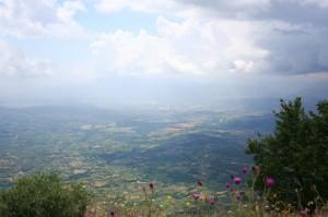 veduta dal monte Scalambra