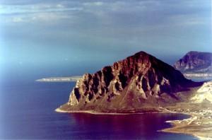Panorama riserva naturale monte Cofano