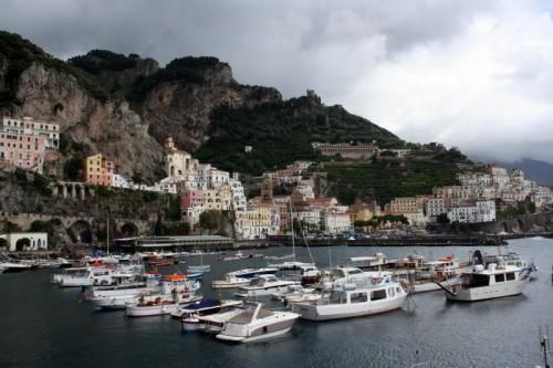 Amalfi - il porto di Amalfi