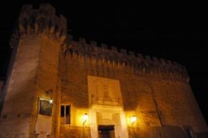 Civitella San Paolo - Il Castello di notte