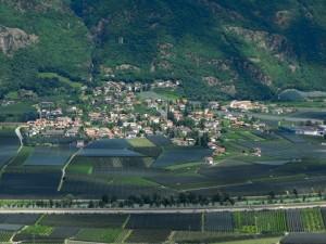 Panorama su Gargazzone