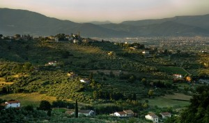 Veduta di Tizzana