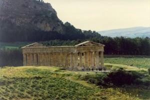 Segesta panoramica sul tempio