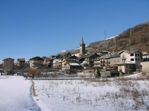 Chambave - Chambave con la neve